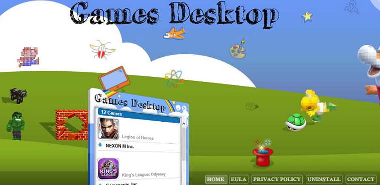 Games Desktop: что это за программа