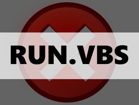 Не удается найти файл сценария run.vbs