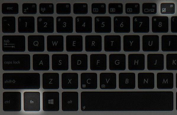 Как отключить тач на ноутбуке asus