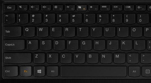 Отключить тачпад на Lenovo
