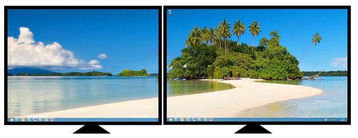 kak podkluchit dva monitora