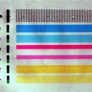 printer pechataet s polosami