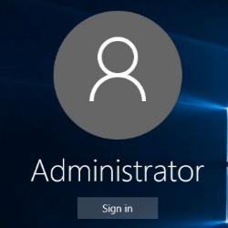 kak zapustit akkaunt administratora